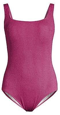 Gottex Swim Women's Textured One-Piece Swimsuit