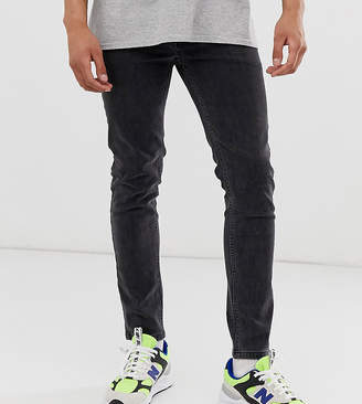 super skinny jeans in black