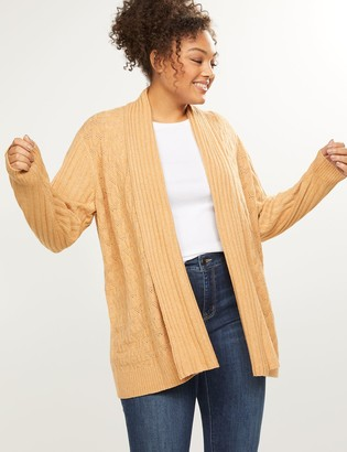 Lane Bryant Cable Knit Tunic Overpiece