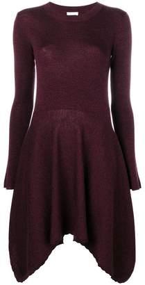 See by Chloe asymmetric hem dress
