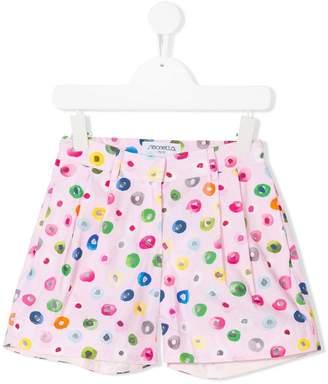 Simonetta dotted patterned shorts