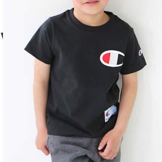 Champion (チャンピオン) - チャンピオン Champion Champion チャンピオン ビッグロゴ 刺繍ロゴ キッズTシャツ 綿100% アクティブ キッズ