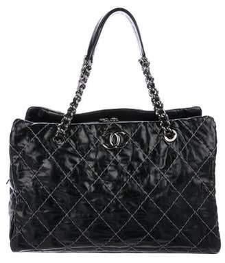 Chanel Double Stitch Tote
