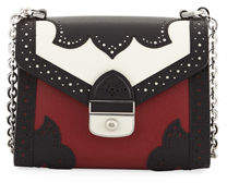 Longchamp Efrontee XS Colorblock Leather Crossbody Bag