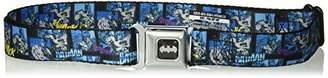 Buckle-Down Men's Seatbelt Belt Batman Kids
