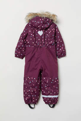 H&M Padded Snowsuit - Purple