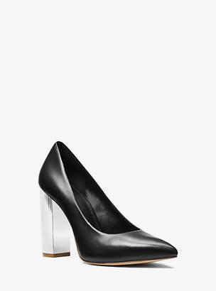 Michael Kors Paloma Leather Pump