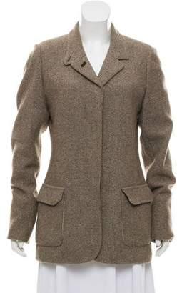 Loro Piana Casual Tweed Blazer