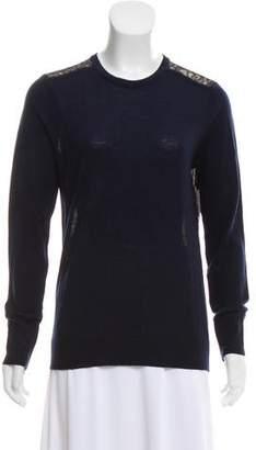 Equipment Lace Crew Neck Sweater