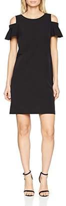 Comma Women's 81.803.82.4234 Party Dress, Black 9999
