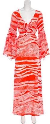 Alexis Silk Maxi Dress