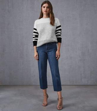 Reiss Ada Straight Cropped Jean