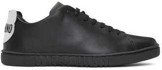 Moschino Black Teddy Patch Sneakers
