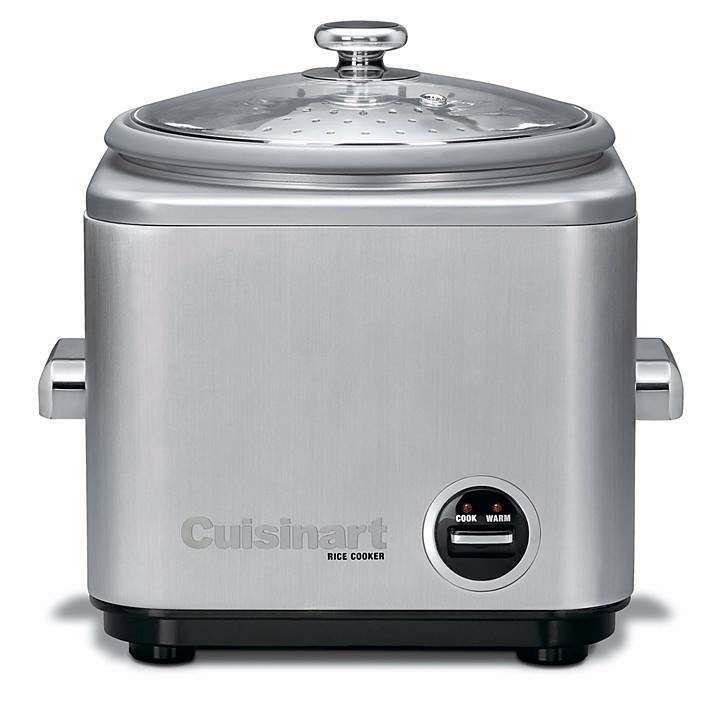 "Cuisinart ""Brushed Stainless Steel"" Rice Cooker by Cuisinart"