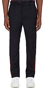 Lanvin MEN'S SIDE-STRIPED WOOL TROUSERS