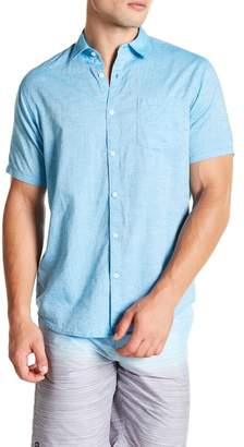 Micros Roe Short Sleeve Woven Regular Fit Shirt