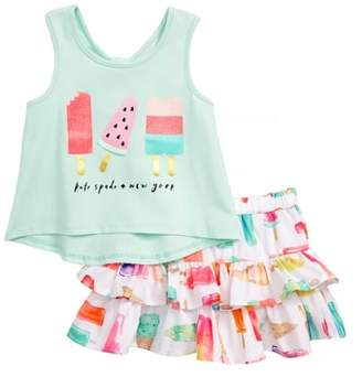 Kate Spade summer treats tank & skirt set