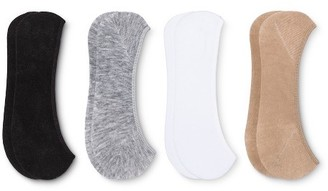 Peds® Women's Liner Sock Assorted 4 pk $7.99 thestylecure.com