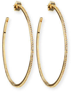Tai Large Hoop Earrings w/ Pavé