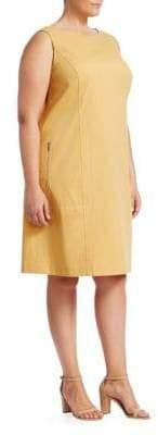 Lafayette 148 New York Lafayette 148 New York, Plus Size Paxton Stitched Dress