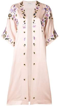 Temperley London open front embroidered jacket