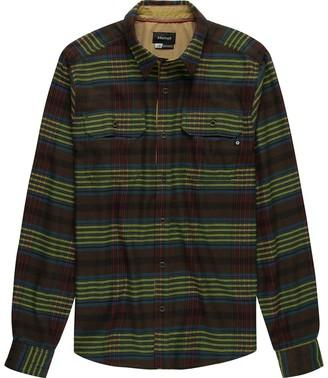 Marmot Del Norte Midweight Flannel Long-Sleeve Shirt - Men's