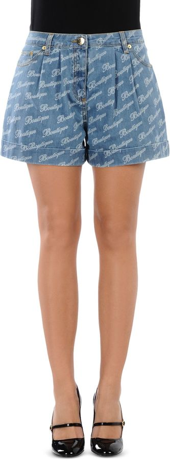 Moschino BOUTIQUE MOSCHINO Denim shorts