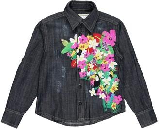 Philipp Plein Denim shirts - Item 42643498AN