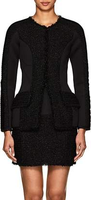 Alexander Wang Women's Neoprene & Tweed Slim Jacket