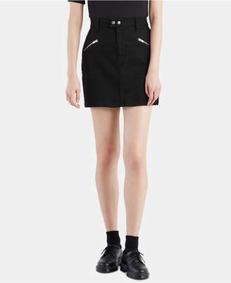 Levi's Zip Sport Denim Skirt