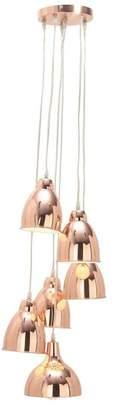 Brimfield & May Modern Iron 6-Bulb Bell Pendant Lamp