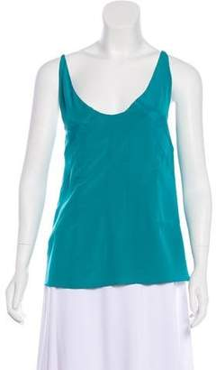 Marni Silk Sleeveless Top