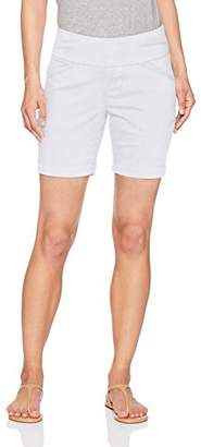 """Jag Jeans Women's Petite Ainsley 7"""" Pull on Short"""
