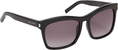 Saint Laurent Thick Square Frame Sunglasses