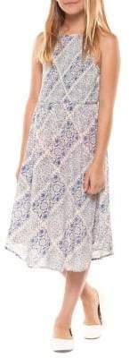 Dex Girl's Smocked Maxi Dress