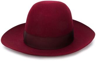 Borsalino wide-brimmed Folar hat