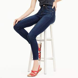 "J.Crew Tall 9"" high-rise toothpick jean in Point Lake wash with TencelTM"