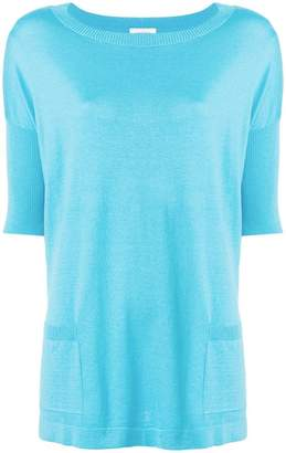 Snobby Sheep flared short-sleeve top