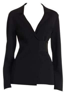 Stella McCartney Belted Wrap Jacket