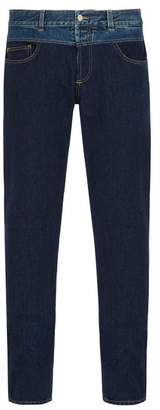 Givenchy - Contrast Waistband Jeans - Mens - Blue