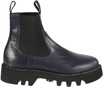 Sofie D'hoore Elasticated Panel Ankle Boots