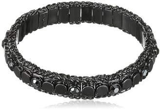 Pilgrim Classic Women's Bracelet Crystal Round 60153_0.6 0.6 CM black