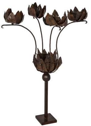 Jan Barboglio Floral Candelabra