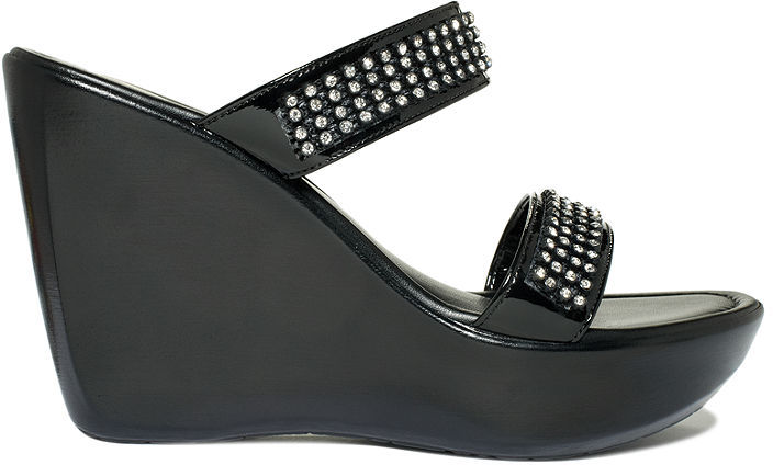 Callisto Snazzy Platform Wedge Sandals