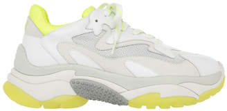 Ash Addict Ss19-S-126379-003 White With Yellow Sneaker