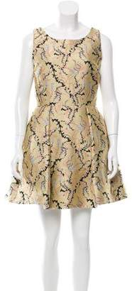 Mary Katrantzou Jacquard Mini Dress w/ Tags