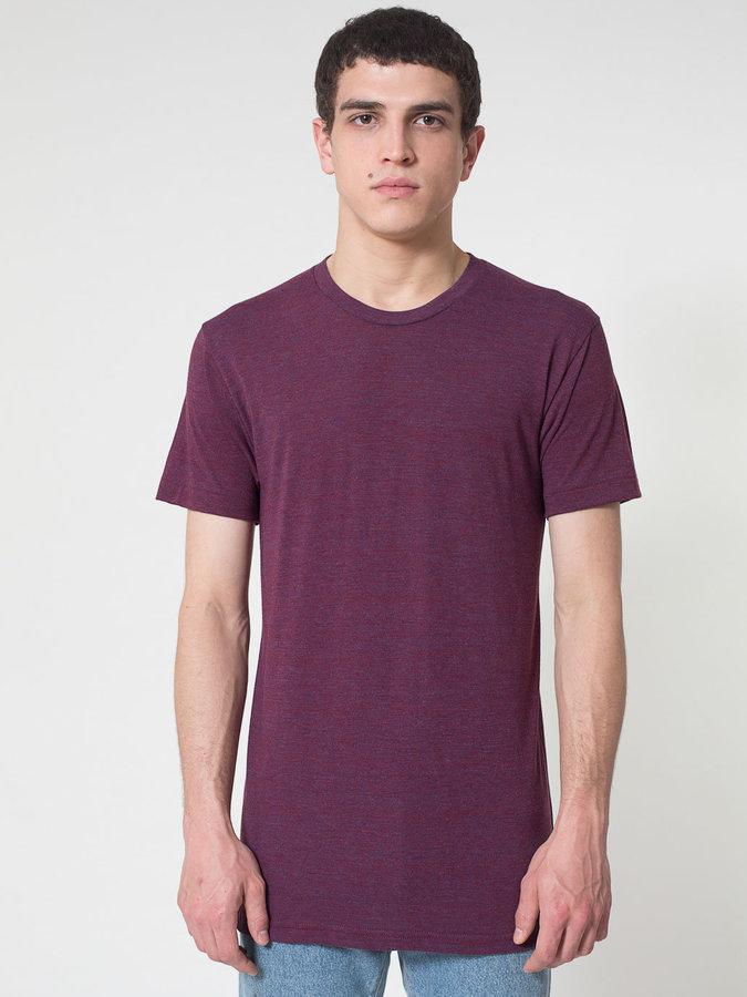 Tri-Blend Short Sleeve Track Shirt