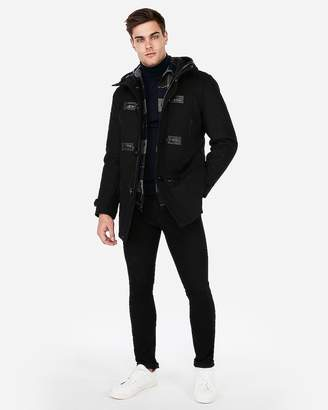 Express Wool-Blend Toggle Water-Resistant Jacket