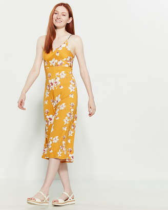 Polly & Esther Printed Bungee Jumpsuit