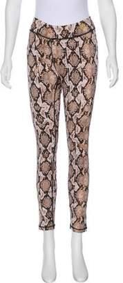 1e77b6e7a1719 MICHAEL Michael Kors Printed Mid-Rise Leggings
